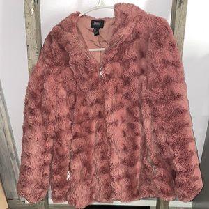 Forever 21 teddy jacket